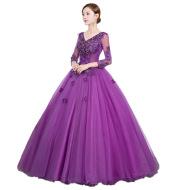 Fantasy Forest Pettiskirt Long Evening Dress