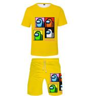 Among Us 3D Digital Printing Short Sleeve Shorts For Men And Women
