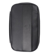 Simple Portable Leather Cigar Humidor Storage Bag