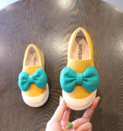Spring and Autumn Children's Soft Sole Canvas Shoes