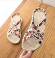 Sandals Schoolgirls Flat Casual Cute British Shoes Kids