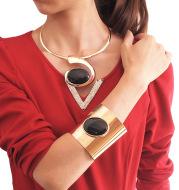 Personalized Pendant Necklace Set Bracelet Accessories