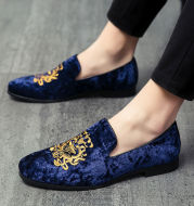 Korean Style Embroidered Leisure Lazy Shoes