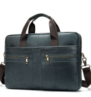 Business Leather Briefcase Men's Foreign Trade First Layer
