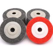 Stainless Steel Grinding Wheel 4-inch Angular fiber Wheel