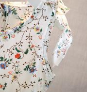 Baby Summer Sleeveless Tie Floral Princess Dress