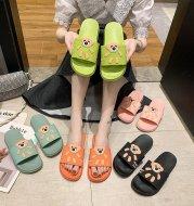 New Style Slippers Female Summer Cartoon Cute Home Indoor Fashion Platform