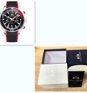 Paulareis Full Automatic Mechanical Luminous Canvas Rubber Belt Multifunctional Men's Watch Cassette