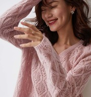 Spring And Autumn Loose Wool Sweater Women