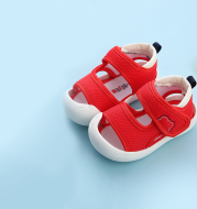 Baby Toddler Shoes Summer And Autumn Non Slip Soft Sole Net Shoes