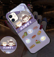 Cute Cartoon Girl Series Incoming Call LED Flashing Iphone12 Pro Max Phone Protective Case