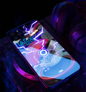 Call Flash Iphone12Mini Mobile Phone Shell Voice Control Light Emitting Shell