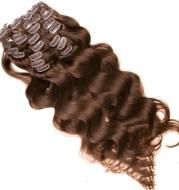 Brazil Remiga Natural Extension Hairpin 7 Piece Set