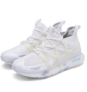 Lightweight White Student Luminous Coconut Casual Shoes