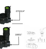 Automatic Control Irrigation Solenoid Valve For Courtyard Villa Roof Balcony