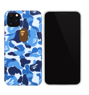 Apeman Blue Camouflage Phone Case For IPhone