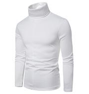 Fleece High Neck Long Sleeve T-Shirt Bottoming Shirt