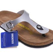 Birkenstock Men''s Shoes Leather Cork Sandals Slippers Flip Flops Women''s Shoes Beach Shoes Gizeh