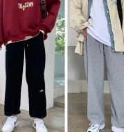 Fashion Casual Thick Loose-Fitting Track Pants