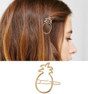 New Hollow Pineapple Word Hairpin