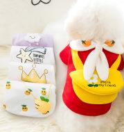 Fashion Cute Cartoon Pet Autumn And Winter Clothes