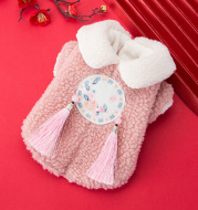 New Year Festive Warmth And Thick Pet Clothes