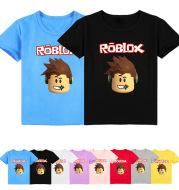 ROBLOX Boys And Girls Cartoon Print Short Sleeve T-Shirt Top Y006