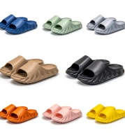 Couple Sandals And Slippers, Women's Non-Slip Stepping On Shit, Thick-Soled Men's Slippers