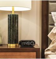 Desktop Clock Control, Bluetooth Audio, FM Radio, Insertable TF Card, LED Screen Display