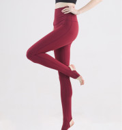 The New Yoga Pants Step On The Feet High Waist Tight Fitting And Quick Drying