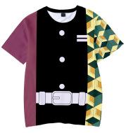 3D Digital Printing Kids Short-sleeved T-shirt Quick Drying