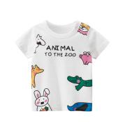 Girls' Short Sleeved T shirt Children's Clothing