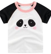 Summer Children's Short Sleeved T Shirt Girls Top