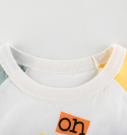 Girls' Short Sleeved T shirts Childrens Baby Clothes