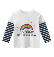 Spring Girl's Bottoming Shirt Children's Long Sleeve