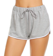 Explosion Style Ladies Solid Color Casual Shorts