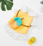 Cartoon Pineapple Small Dog Skirt Cat Clothes