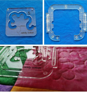 Shaped Hollow Sewing Kit Patchwork Template