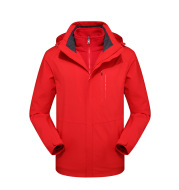 Autumn and Winter Couples Three-in-One Jacket Men