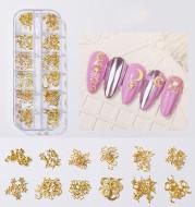 Shell Piece Diamond Rhinestone Decoration Pearl Butterfly Nail Sticker