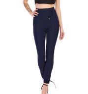 Fashion High-Waisted Slim-Fitting Cropped Pants