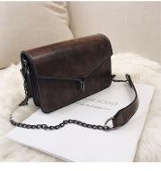 Gangfengsen Small Square Bag Chain Shoulder Messenger Bag
