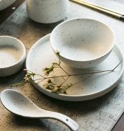 Japanese-Style Household High-Value Ceramic Tableware Set