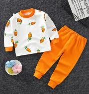 Children's Underwear Set cotton Two-piece Cotton Sweater Pajamas