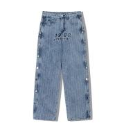 Jeans Men's Hip Hop Loose Straight Leg Wide Leg Pants