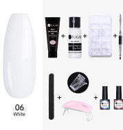 Nail Extended Gel Crystal Phototherapy Gel Package