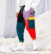 Wholesale Fashion Casual Corduroy Stitching Multi-Craft Jeans