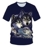 Cross-Border Summer T-shirt Creative Printing Children's Wear New
