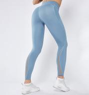 Mesh Stitching Cross-Border High Waist Hip-lifting Sports Tight Trousers Yoga Pants Women