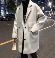 Winter Casual Thickened Handsome Woolen Coat